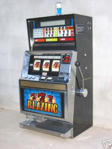 blazing sevens slot machine for sale